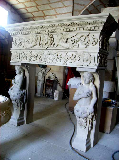 Caminetti In Pietra Leccese Caminetti Antichi In Pietra Per Interni