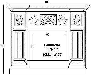 CAMINETTO IN PIETRA LECCESE: rivestimento in pietra per caminetto ...