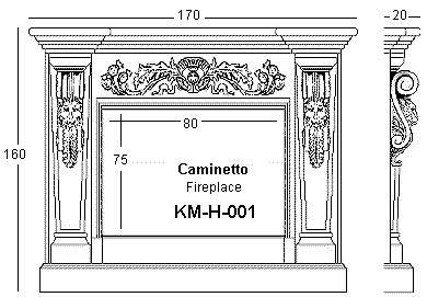 Stone fireplace and stone fireplaces -1